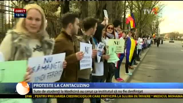 Salvați Institutul Cantacuzino