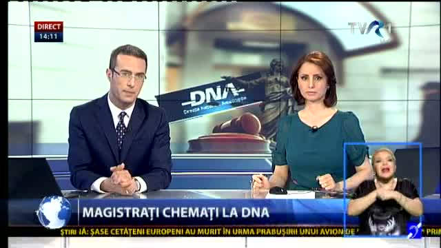 Magistrați chemați la DNA