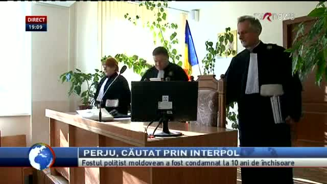 Telejurnal Moldova - Perju, căutat prin Interpol