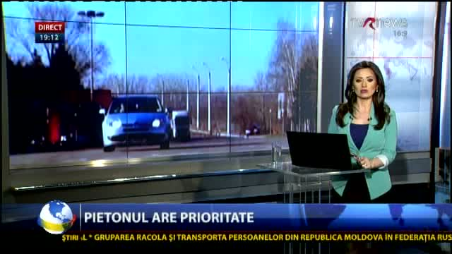 MOLDOVA Pietonul are prioritate