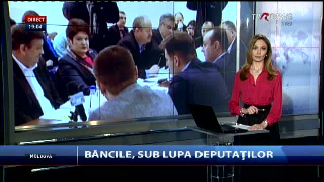 Telejurnal Moldova - Băncile, sub lupa deputaților