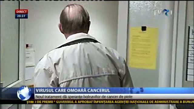 Virusul care omoară cancerul