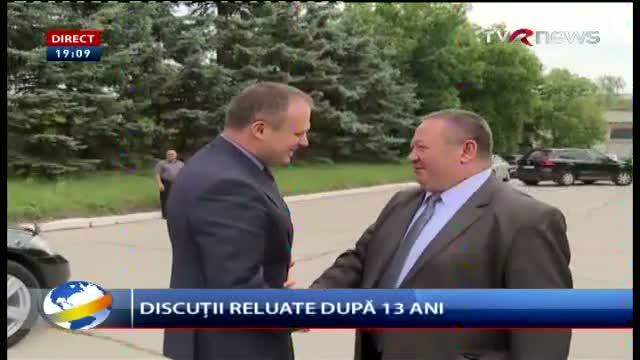 Telejurnal Moldova - Discuții reluate după 13 ani