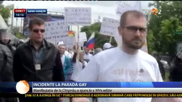 Incidente la parada gay