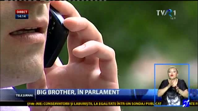 Legea Big Brother revine în Parlament