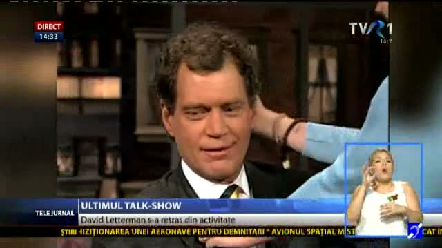 David Letterman s-a retras din activitate