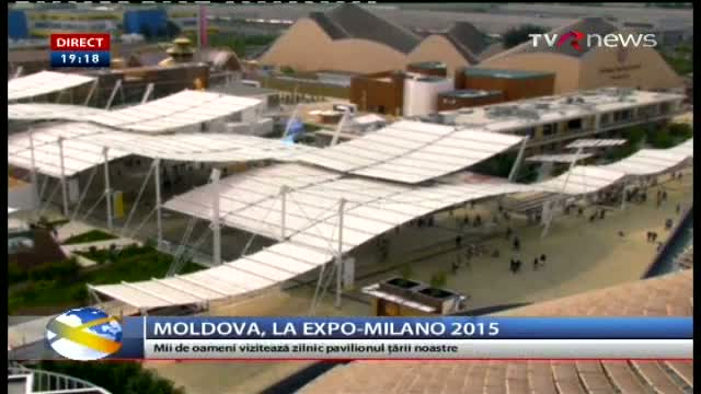 Telejurnal Moldova - Moldova la Expo MIlano 2015