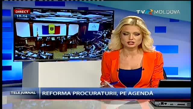 Telejurnal Moldova - Reforma procuraturii