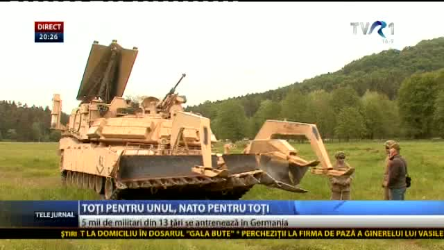 Exerciții NATO în Germania