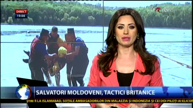 Telejurnal Moldova - Salvatori moldoveni, tactici britanice