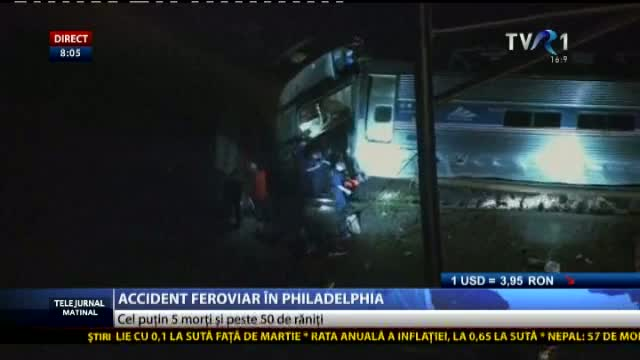 Accident feroviar în Philadelphia