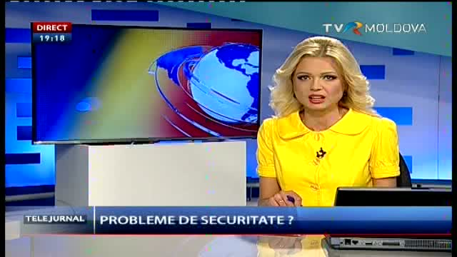 Telejurnal Moldova - Probleme de securitate?
