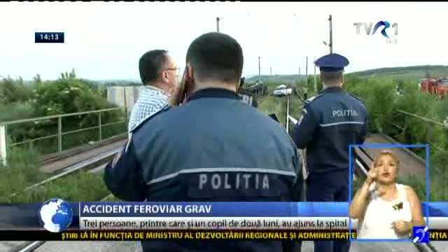 Grav accident feroviar