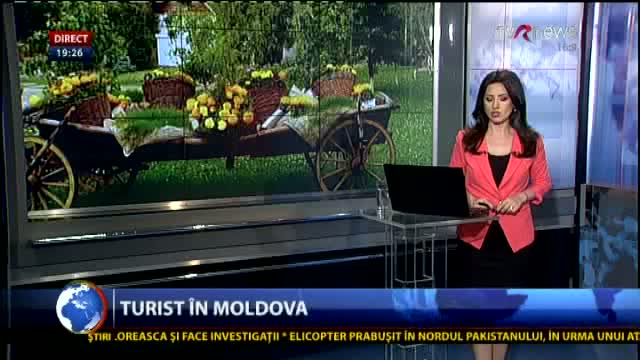 Telejurnal Moldova - Turist în Republica Moldova
