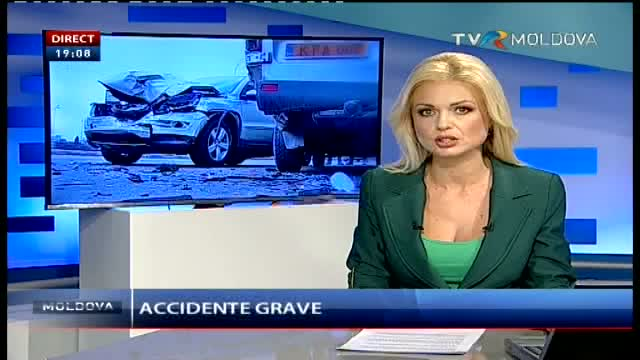 TELEJURNAL MOLDOVA. Accidente grave