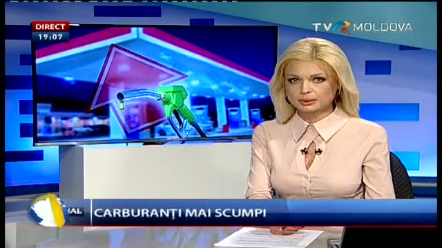 Telejurnal Moldova - Carburanți mai scumpi