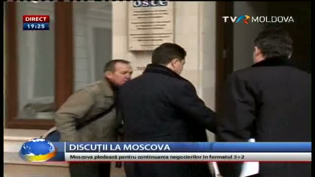 Telejurnal Moldova. Discuții la Moscova