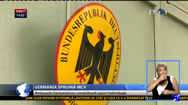 Germania sprijină MCV