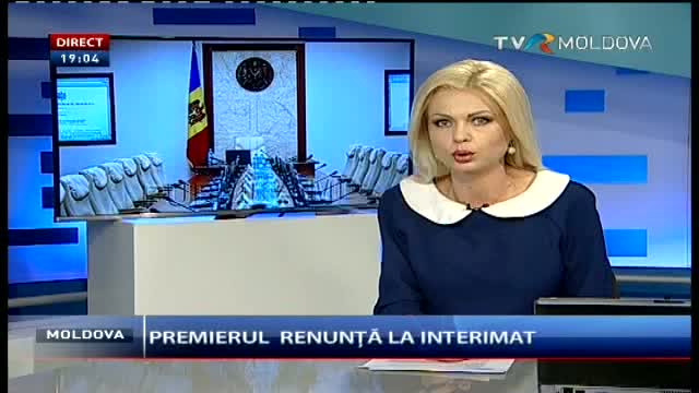Telejurnal Moldova - Premierul renunță la interimat