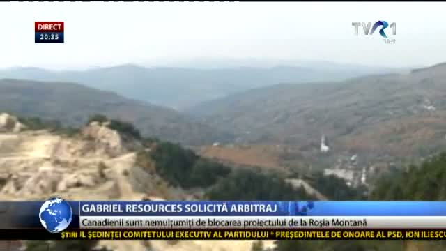 Gabriel Resources solicită arbitraj