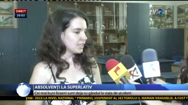 Absolvenți la superlativ