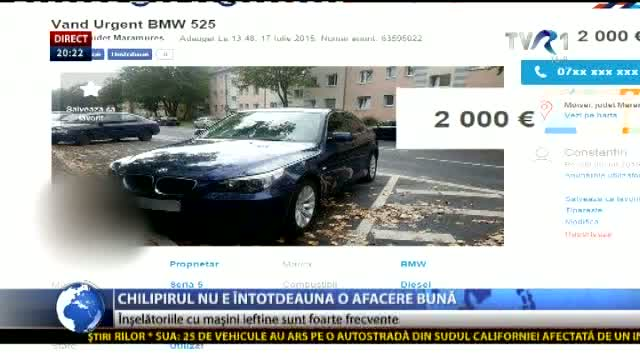 Atenție la chilipiruri!