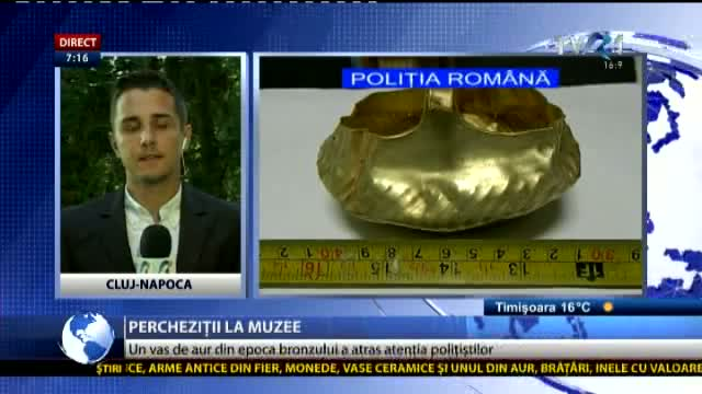 Percheziții la muzee