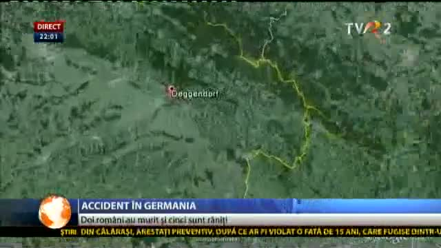 Accident în Germania