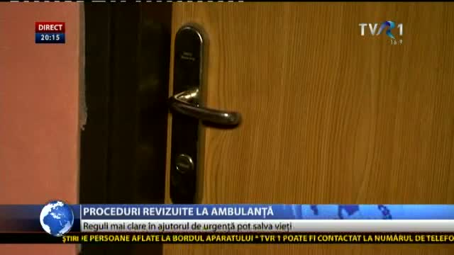 Proceduri revizuite la Ambulanță