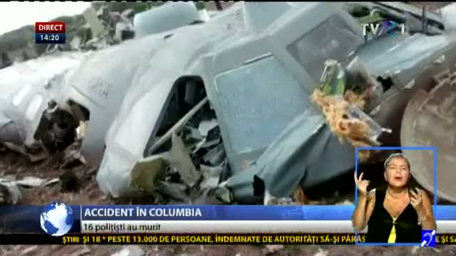 Accident în Columbia