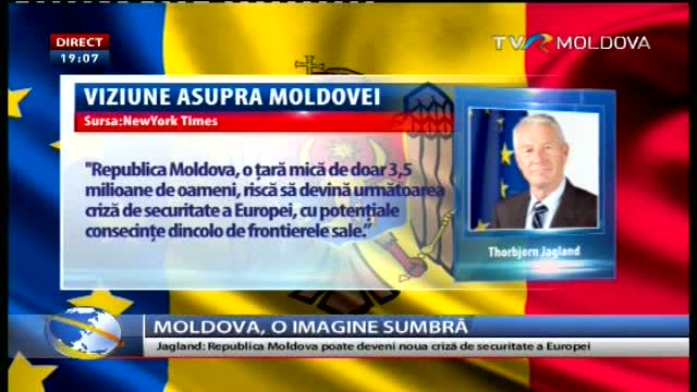 Republica Moldova, imagine sumbră