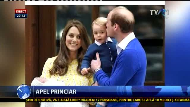 Apelul lui William și Kate către paparazzi