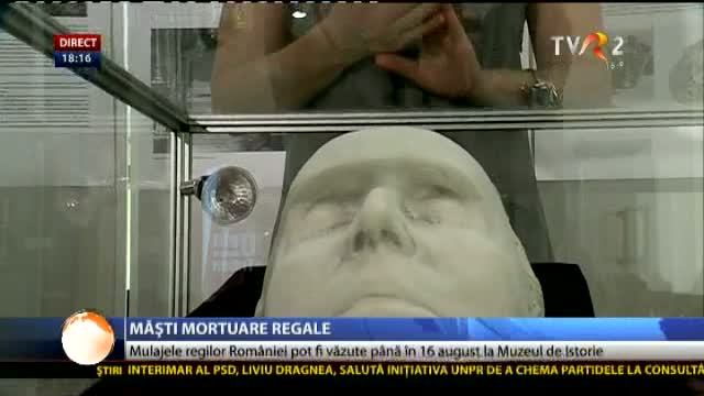 Măști mortuare regale