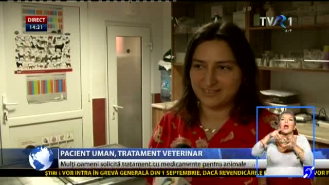 Pacient uman, tratament veterinar