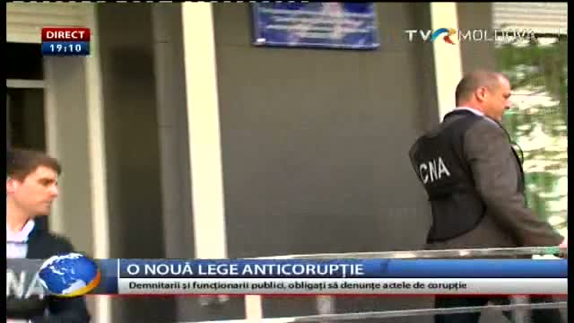 TELEJURNAL MOLDOVA / O nouă lege anticorupție