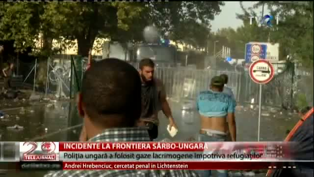 Incidente la frontiera sârbo-ungară