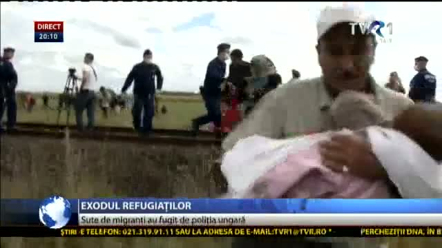 Exodul refugiaților