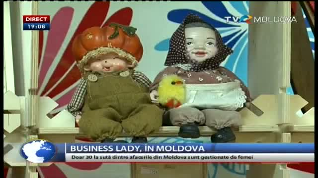 TELEJURNAL MOLDOVA / Business lady în R. Moldova