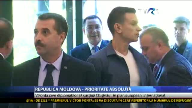 Republica Moldova- prioritate absolută