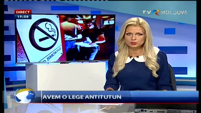 Telejurnal Moldova - Lege antitutun