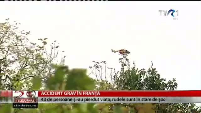 Accident grav în Franța