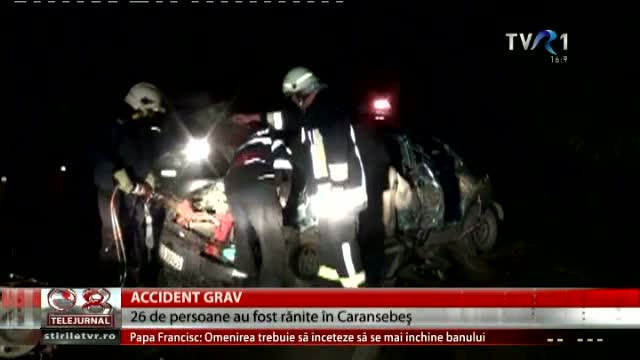 Accident grav în Caransebeș
