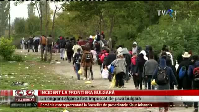 Incident la frontiera bulgară