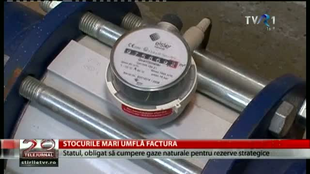 Stocurie mari umflă factura