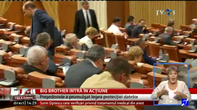 Legea Big Brother, promulgată