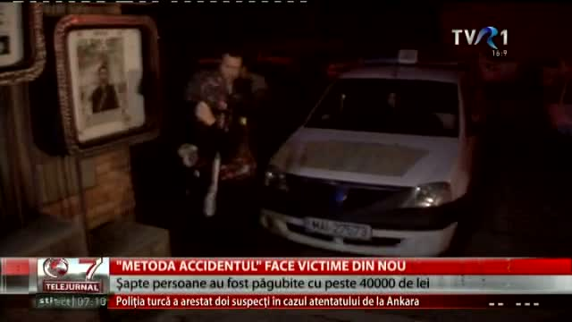 Metoda Accidentul face noi victime