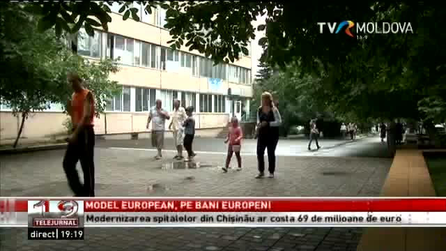 TELEJURNAL MOLDOVA / Model european pe bani europeni