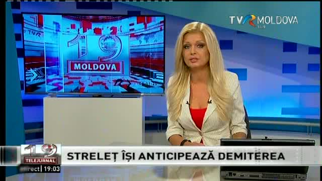 Telejurnal Moldova - Streleț își anticipează demiterea