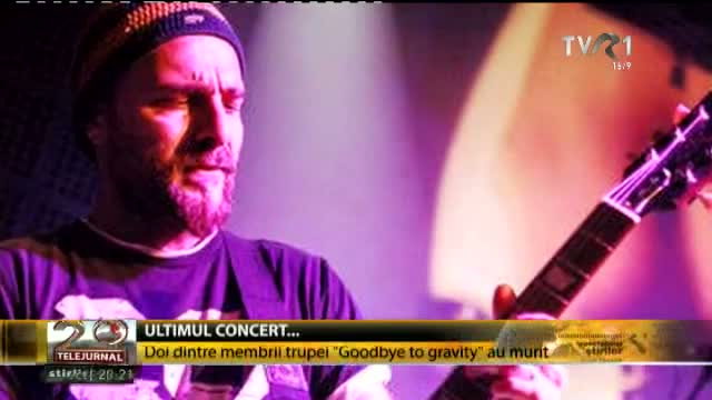 Ultimul concert al trupei Goodbye to Gravity