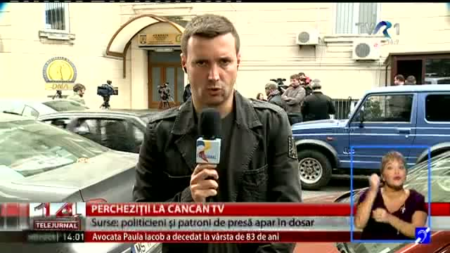 Percheziții la Cancan TV